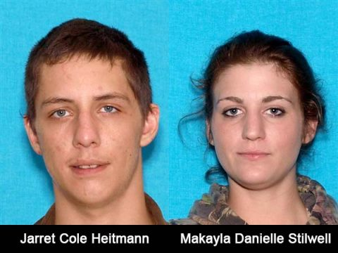 Jarret Cole Heitmann and Makayla Danielle Stilwell