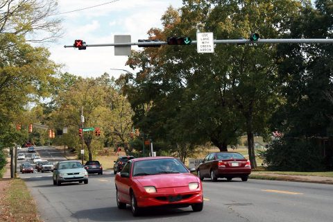Madison Street Lane configuration between Tenth Street and Pageant Lane won't change.