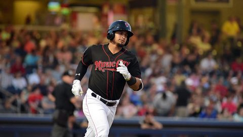 Franklin Barreto's Grand Slam With Two Outs in the 9th Inning Lifts Nashville Sounds to Victory. (Nashville Sounds)
