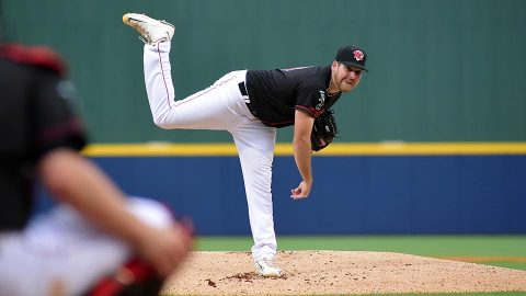 Sounds' Corey Walter Tosses Six Solid Innings as Nashville Evens Series. (Nashville Sounds)