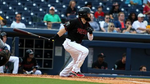Nashville Sounds' Jaff Decker Goes Deep, 2-for-4; Ben Bracewell Debuts. (Nashville Sounds)