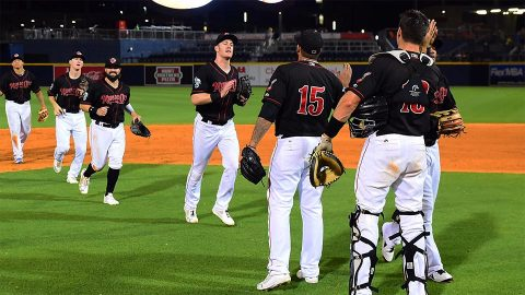 Nashville Sounds start Eight-Game Homestand With a Win over Division Rival. (Nashville Sounds)