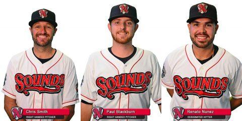 Nashville Sounds Renato Nuñez, Paul Blackburn and Chris Smith selected for Pacific Coast League All-Star Team. (Nashville Sounds)