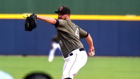 Nashville Sounds pitcher Chris Smith. (Nashville Sounds)