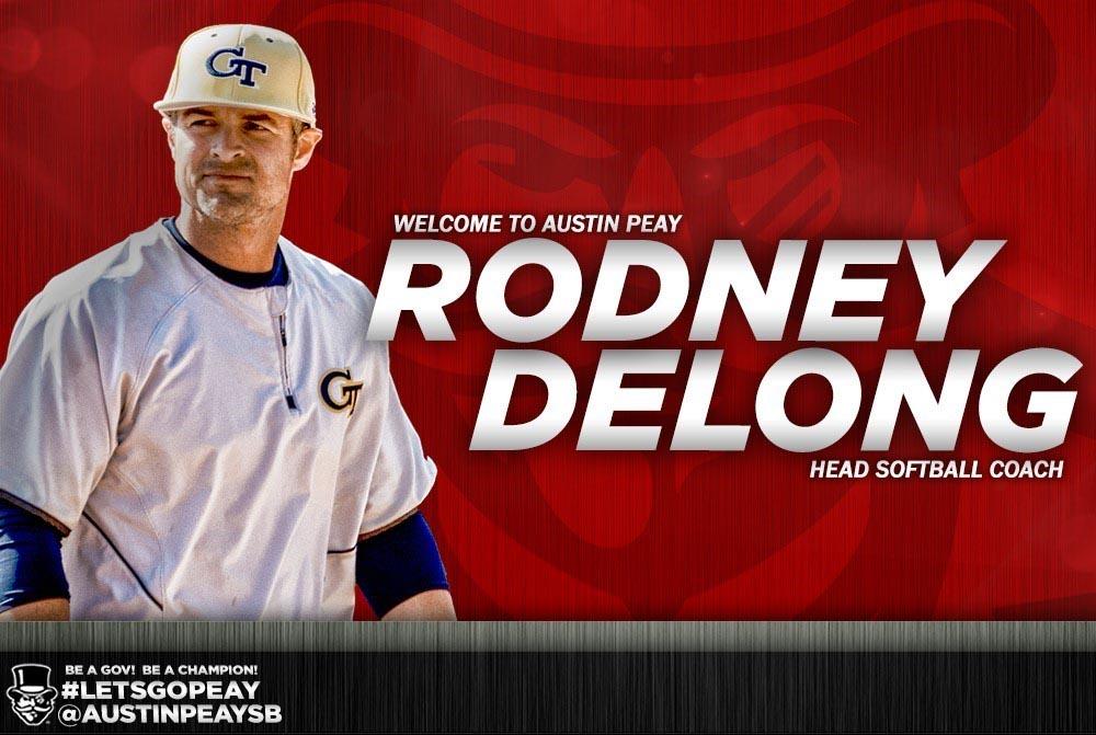 Rodney DeLong named as APSU Softball's new Head Coach. (APSU)