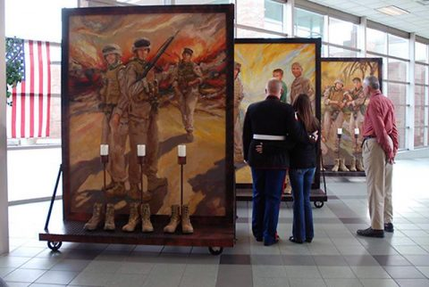 The Eyes of Freedom: Lima Company Memorial