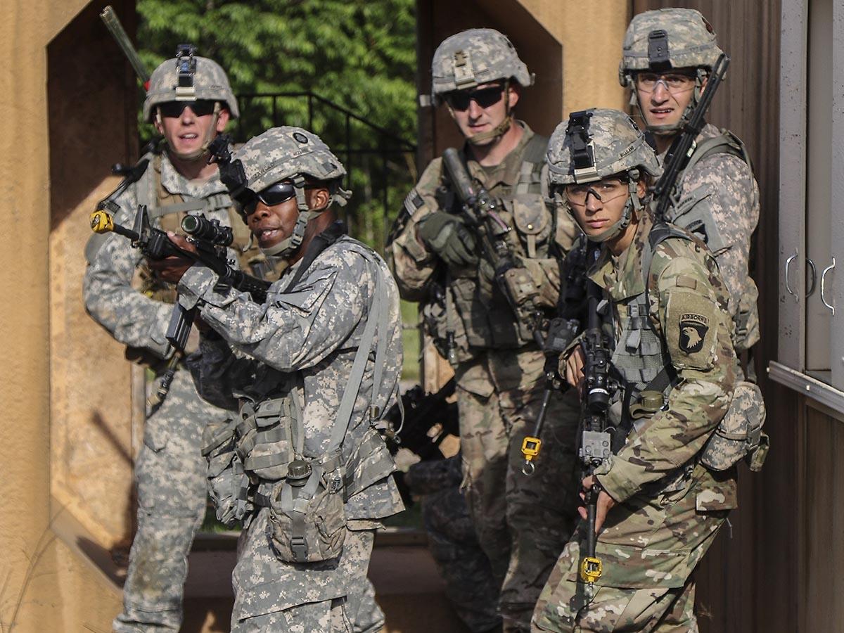 101st Airborne Division No Slack Soldiers Prepare for