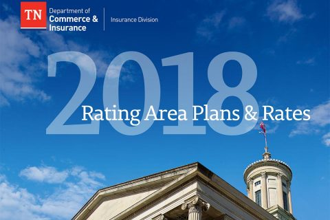 2018 Tennessee Rating Area Plans and Rates