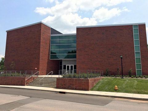 Austin Peay State University's new Art and Design Building