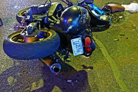 Clarksville Police are investigating a hit and run motorcycle accident that happened Sunday.