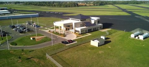 Clarksville Regional Airport Total Solar Eclipse Viewing to be held August 21st at noon.