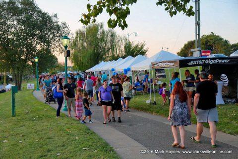 Clarksville's Riverfest Festival will be held Thursday, September 7th through Saturday, September 9th, 2017 at McGregor Park.