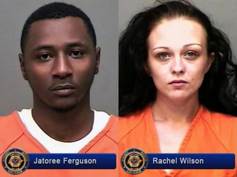 Jatoree Ferguson and Rachel Wilson