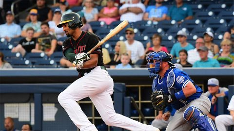 Nashville Sounds' Marcus Semien's Walk-Off Single Snaps Drought Against Oklahoma City Dodgers. (Nashville Sounds)