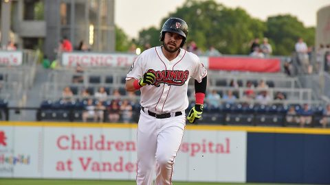 Nashville Sounds Infielder Renato Nunez Drives in Five Runs in Series Finale Against Sky Sox. (Nashville Sounds)