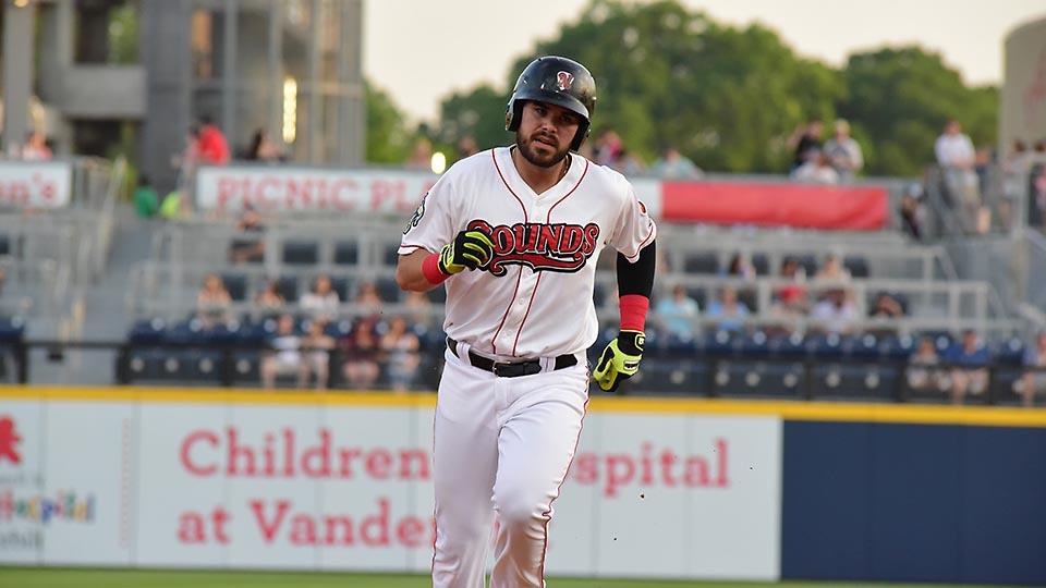 Nashville Sounds Infielder Renato Nunez Drives in Five Runs in Series Finale Against Sky Sox. (Nashville Sounds)