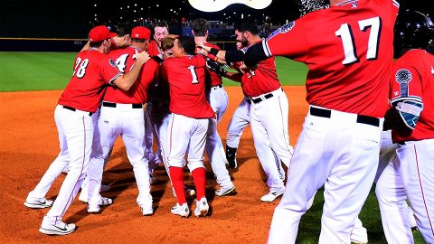 Nashville Sounds Nets Third Walk-Off Win in Less Than One Week. (Nashville Sounds)