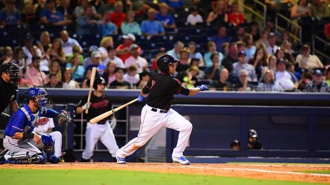 Nashville Sounds' Shortstop Yairo Muñoz Drives in Five Runs on Three Extra-Base Hits. (Nashville Sounds)