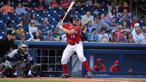 Nashville Sounds Trailed 7-1 and 8-2 Before Six-Run Eighth and Three-Run 11th. (Nashville Sounds)