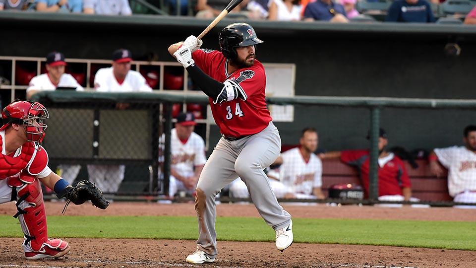 Renato Nunez's home run helps Nashville Sounds Split Four-Game Series with Iowa Cubs. (Nashville Sounds)