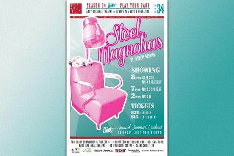 """Steel Magnolias"" Takes the Stage of the Roxy Regional Theatre, July 28th - August 19th"