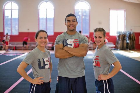 Three Austin Peay Student Athletes win gold for Team USA. (APSU)