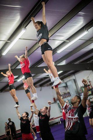 Austin Peay Cheerleaders