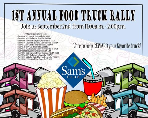 Sam's Club to host 1st Annual Food Truck Rally this Saturday, September 2nd.