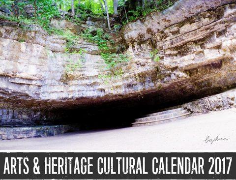 2017 Arts & Heritage Cultural Calendar