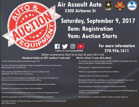 AAA Auction September 2017
