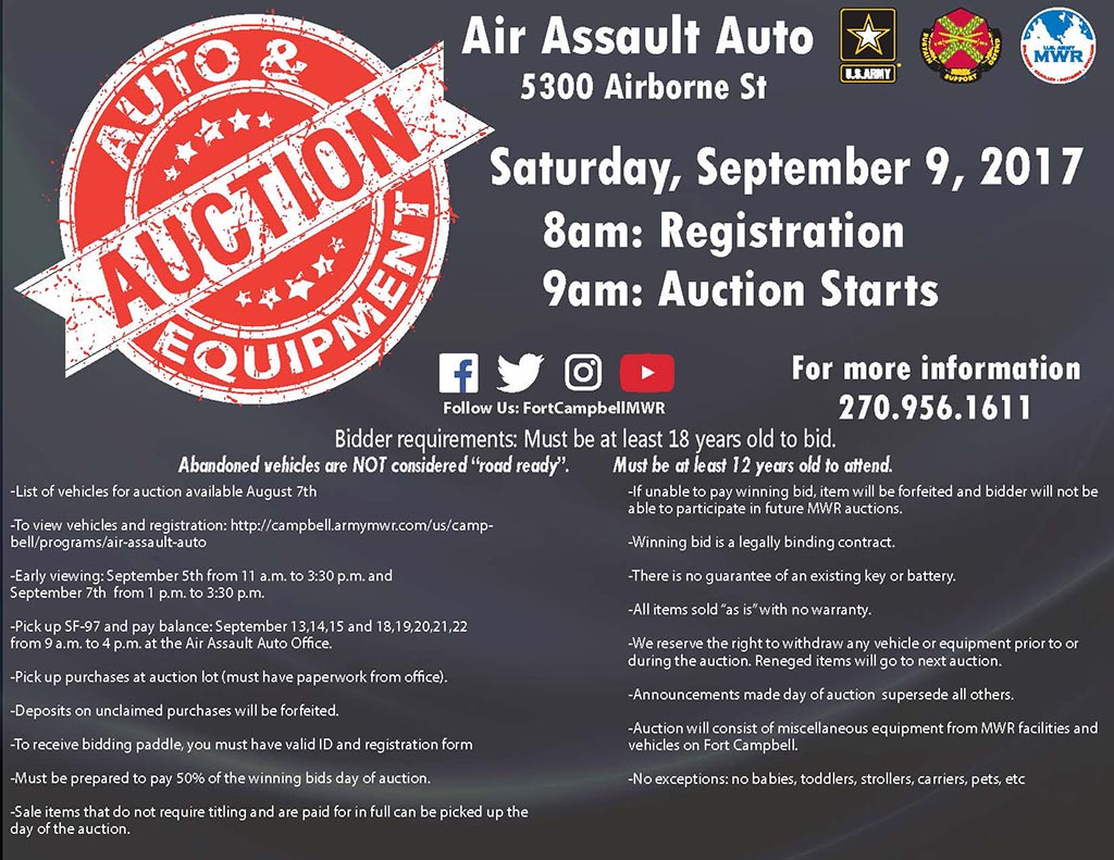 AAA Auction September 2017