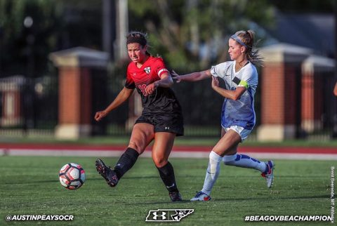 Austin Peay Soccer gets first win of the season Sunday at Middle Tennessee Blue Raiders. (APSU Sports Information)
