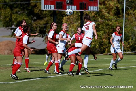 Austin Peay Soccer plays Indiana State at Morgan Brothers Soccer Field Tuesday, August 8th.
