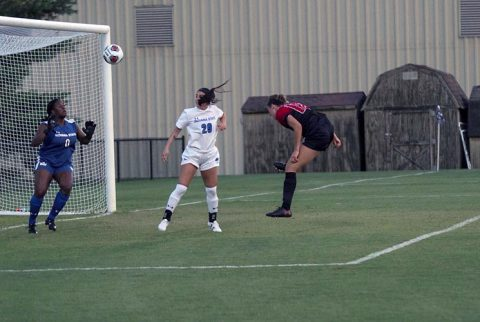 Austin Peay Soccer takes down Indiana State Sycamores 3-9 Tuesday night at Morgan Brothers Soccer Field. (APSU Sports Information)