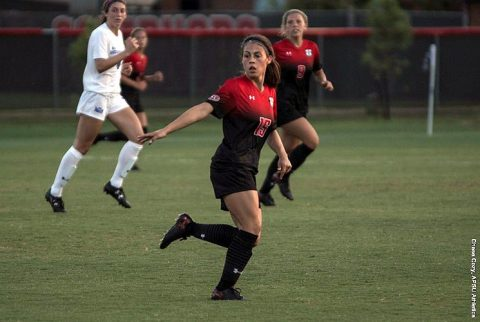 Austin Peay Soccer scores late to overcome Western Illinois Friday night, 4-2. (APSU Sports Information)