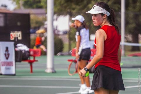 Austin Peay Women's Tennis Team earms OVC Team Academic Award. (APSU Sports Information)