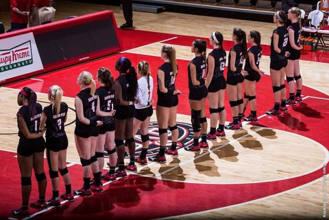Austin Peay Volleyball picked to finish second in the 2017 Season by OVC Coaches and Sports Information Directors. (APSU Sports Information)
