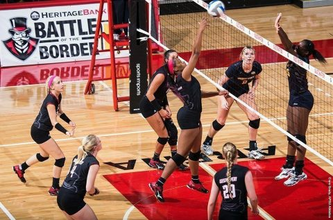 Austin Peay Volleyball plays Missouri-Kansas City (UMKC) at APSU's 2017 Culvers Governors Challenge on Friday. (APSU Sports Information)