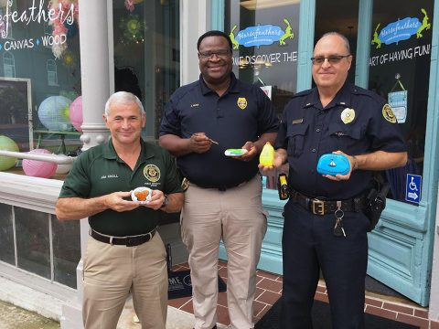 Clarksville's Finest recently joined the Clarksville Kindness Rocks program sponsored by Arts for Hearts, a program under the umbrella of Clarksville-Montgomery County Arts and Heritage Development Council.
