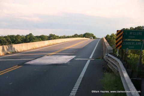 McClure Bridge repair to begin this weekend.