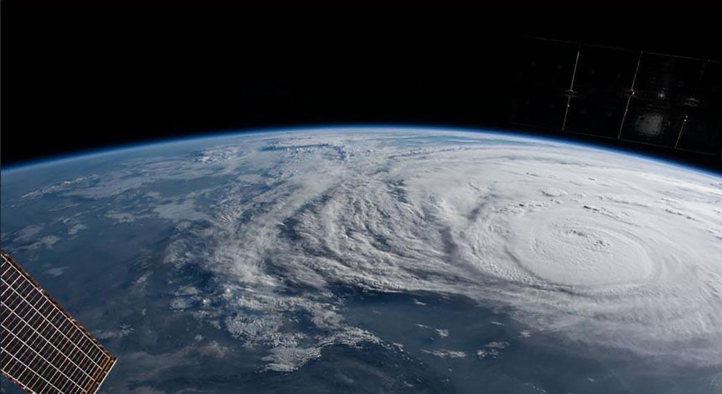 NASA observes Hurricane Harvey now category 4 Near the ...