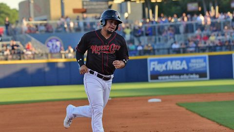 Nashville Sounds Snaps Season-Long Four-Game Skid Saturday. (Nashville Sounds)