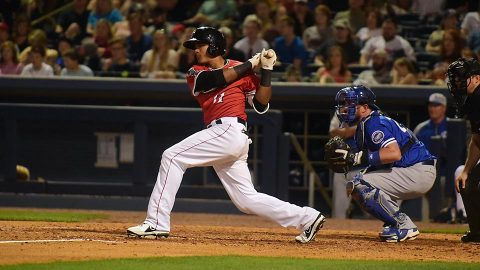 Nashville Sounds at Tacoma Rainiers Five-Hour, Eight-Minute Contest Takes 12 Innings to Decide a Winner. (Nashville Sounds)