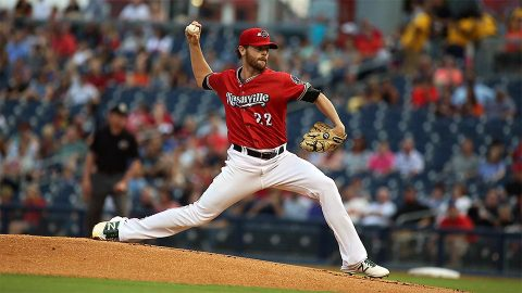 Nashville Sounds Right-Hander Zach Neal Logs Seven Innings in Series Opener. (Nashville Sounds)