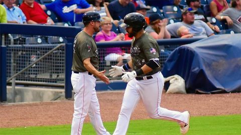 Memphis Redbirds Punches Ticket to Pacific Coast League Playoffs with Win. (Nashville Sounds)