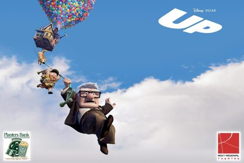 "Planters Bank Presents to show Disney & Pixar's ""Up"" at the Roxy Regional Theatre this Sunday, August 13th"