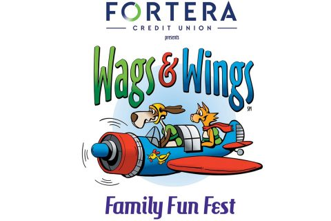 The Wags & Wings Family Fun Fest, a celebration of pets and aviation in Clarksville, will be hosted by Clarksville Regional Airport to benefit the Humane Society of Clarksville-Montgomery County, Oct. 14. Fortera Credit Union is the title sponsor of this first-year event, which will include a Kids Zone, vendors and exhibitors, skydivers and much more.