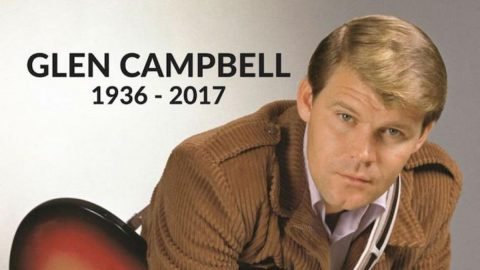 Glen Campbell passed away August 8th, 2017 at age 81.