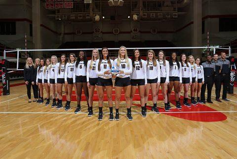 2017 Austin Peay State University Volleyball Team. (APSU Sports Information)