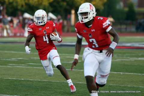 Austin Peay Football Team heads to Murray Kentucky to take on the Racers Saturday night. (APSU Sports Information)
